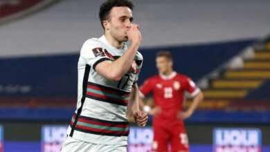 مشاهدة اهداف مباراة منتخب البرتغال ومنتخب صربيا في تصفيات كأس العالم - فيديو