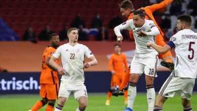 مشاهدة اهداف مباراة منتخب هولندا ومنتخب لاتفيا تصفيات كأس العالم 2022 - فيديو