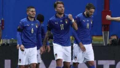 """نتيجة منتخب ايطاليا ومنتخب ايرلندا الشمالية بتصفيات كأس العالم 2022 """"افتتاح مثالي للأتزوري"""""""