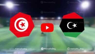 """شاهد مباراة تونس وليبيا في بث مباشر اليوم تصفيات كأس أمم أفريقيا 2021 """"يلا شوت"""""""
