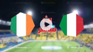 مشاهدة مباراة ايطاليا وايرلندا الشمالية في بث مباشر اليوم تصفيات كأس العالم 2022