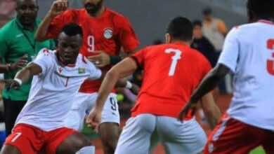 """نتيجة مباراة مصر وكينيا فى تصفيات كأس أمم أفريقيا """"الفراعنة يفلتون من الخسارة في نيروبي"""""""