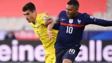 نتيجة مباراة فرنسا وأوكرانيا في تصفيات كأس العالم 2022