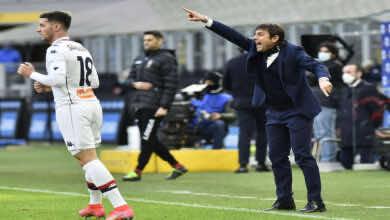 كونتي: الفوز على يوفنتوس زاد ثقة إنتر في قدرته على حصد لقب الدوري