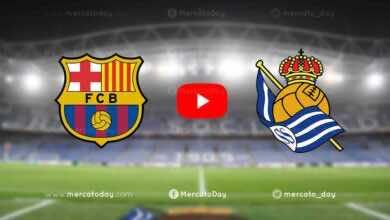 مشاهدة مباراة برشلونة وريال سوسيداد في بث مباشر اليوم