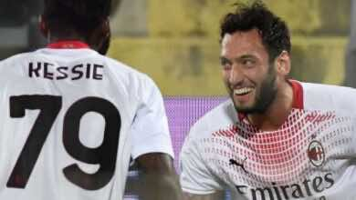 """نتيجة مباراة ميلان وفيورنتينا في الدوري الايطالي """"استفادة ناجحة من سقوط اليوفي"""""""