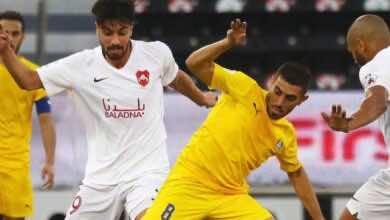 نتيجة مباراة الغرافة والريان في كأس Ooredoo القطرية