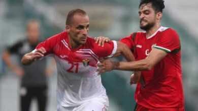 """فيتال بوركلمانز عن تعادل الاردن مع عمان: """"أضعنا الفوز في الشوط الثاني"""""""