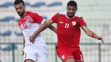 نتيجة مباراة عمان والاردن الودية ضمن استعدادات الفريقين لتصفيات كأس العالم 2022
