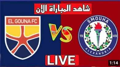 بث مباشر | مشاهدة مباراة الجونة وسموحة في الدوري المصري We