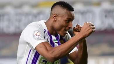 لابا كودجو يقود العين للفوز على الوحدة في الدوري الاماراتي بنتيجة 4-0