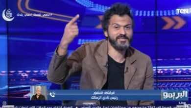 """ابراهيم سعيد عبر تويتر: """"لا أهاجم الأهلي فقط، ومحمود علاء لا يصلح لقيادة دفاع الزمالك"""""""