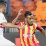 حمدو الهوني لاعب نادي الترجي التونسي ومنتخب ليبيا