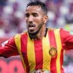 حمدو الهوني لاعب نادي الترجي التونسي ومنتخب ليبيا - صور Getty