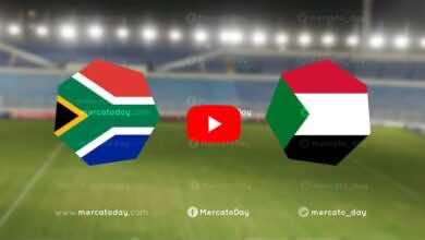 بث مباشر   مشاهدة السودان وجنوب افريقيا