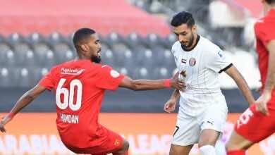 نتيجة مباراة الجزيرة والفجيرة في الدوري الاماراتي