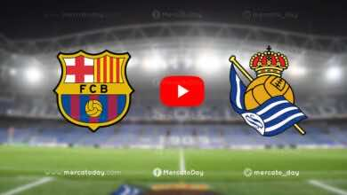 مشاهدة مباراة برشلونة وريال سوسيداد في بث مباشر