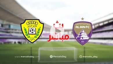 بث مباشر   مشاهدة مباراة العين والوصل في الدوري الاماراتي