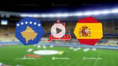 بث مباشر | مشاهدة مباراة منتخب اسبانيا ومنتخب كوسوفو تصفيات كأس العالم 2022