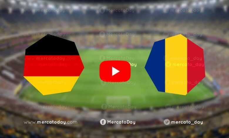 بث مباشر   مشاهدة ألمانيا ورومانيا