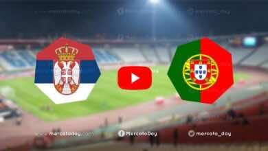 بث مباشر : مباراة البرتغال ضد صربيا