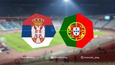 بث مباشر | شاهد مباراة البرتغال وصربيا