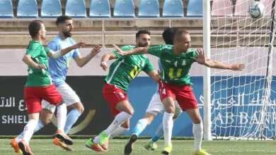 نتيجة مباراة الوحدات والفيصلي في درع الاتحاد الاردني