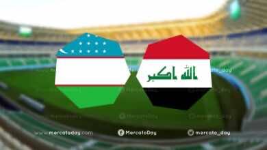 بث مباشر | مشاهدة العراق وأوزبكستان