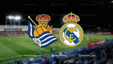 موعد مباراة ريال مدريد وسوسيداد في الدوري الإسباني والقنوات الناقلة
