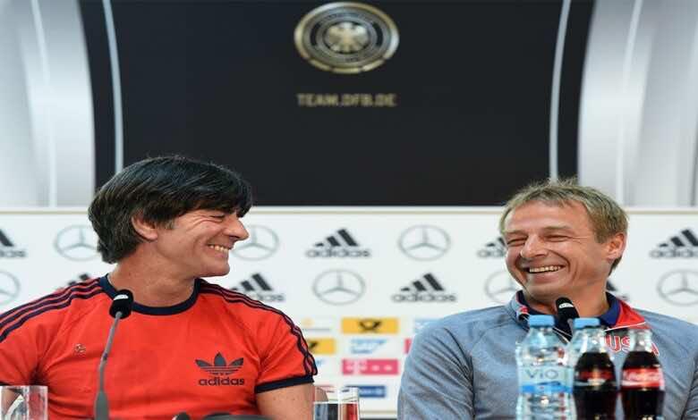 كلينسيمان يشكر يواخيم لوف على كل ما قدمه لمنتخب ألمانيا ويأمل بزيارة لوف له