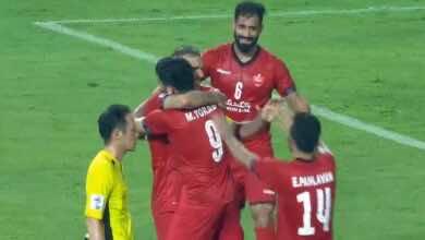 فيديو   شاهد اهداف مباراة الوحدة وبيرسبوليس في دوري أبطال آسيا