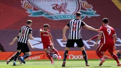 فيديو   شاهد هدف محمد صلاح في مباراة ليفربول ونيوكاسل في الدوري الانجليزي