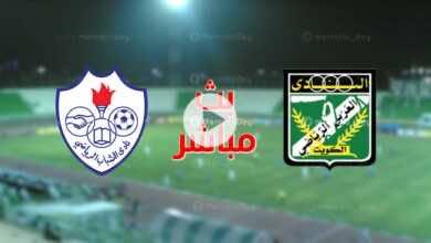 بث مباشر | مشاهدة مباراة العربي والشباب فى الدوري الكويتي stc