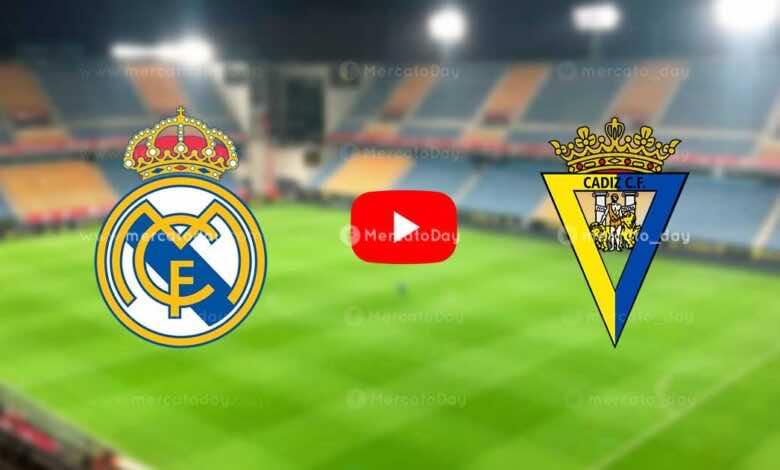 بث مباشر   مشاهدة ريال مدريد وقادش في الدوري الإسباني «يلا شوت»