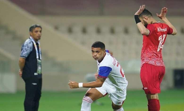 نتيجة مباراة الشارقة وتركتور في دوري ابطال اسيا (صور:twitter)