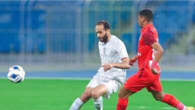 نتيجة مباراة الهلال واهلي دبي في دوري ابطال اسيا (صور:twitter)