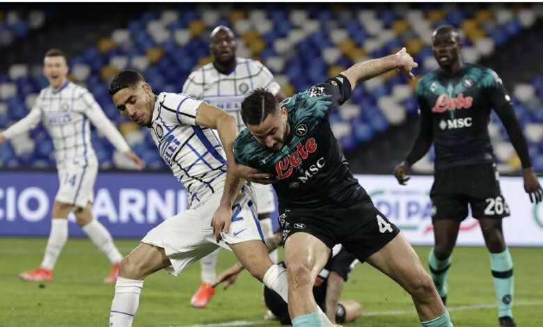 فيديو | مشاهدة اهداف مباراة انتر ميلان ونابولي فى الدوري الايطالي (صور:AFP)