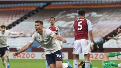 فيديو | مشاهدة اهداف مباراة مانشستر سيتي واستون فيلا فى الدوري الانجليزي (صور:AFP)