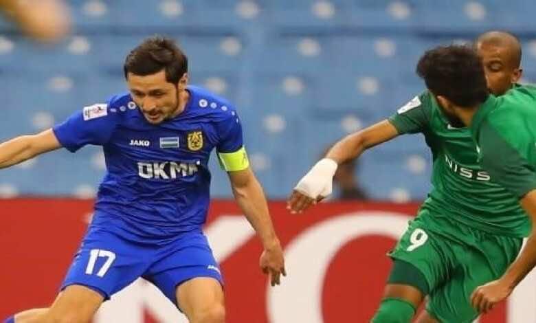 نتيجة مباراة شباب الاهلي دبي واجمك في دوري ابطال اسيا (صور:twitter)