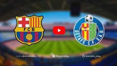 بث مباشر | مشاهدة مباراة برشلونة وخيتافي فى الدوري الاسباني «يلا شوت»