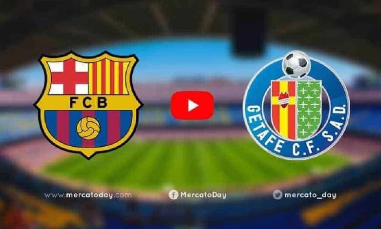 بث مباشر   مشاهدة مباراة برشلونة وخيتافي فى الدوري الاسباني «يلا شوت»