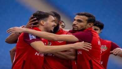 نتيجة مباراة شباب الاهلي دبي وأجمك فى دوري ابطال اسيا (صور:twitter)