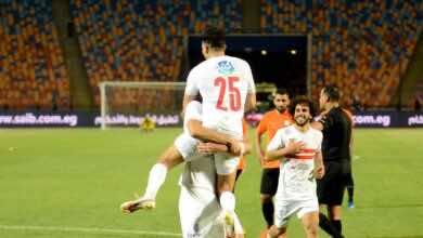 نتيجة مباراة الزمالك والبنك الاهلي فى الدوري المصري We (صور:twitter)