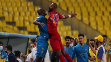 ابطال اسيا | نتيجة مباراة النصر والسد (صور:twitter)