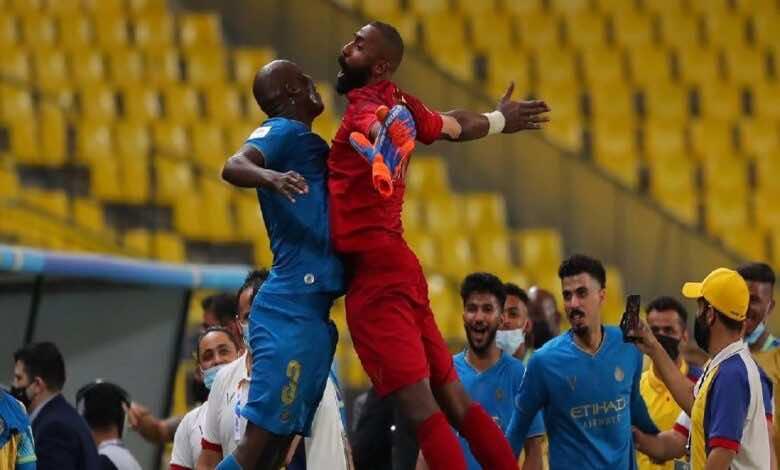 ابطال اسيا   نتيجة مباراة النصر والسد (صور:twitter)