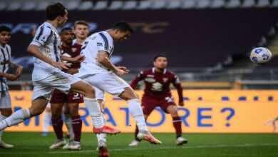 مشاهدة اهداف مباراة يوفنتوس ونابولي في الدوري الايطالي - فيديو (صور:AFP)