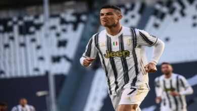 نتيجة مباراة يوفنتوس ونابولي في الدوري الايطالي (صور:AFP)