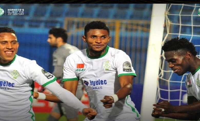 نتيجة مباراة بيراميدز والرجاء في كأس الكونفدرالية الأفريقية (صور:twitter)
