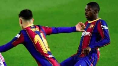 شاهد فيديو هدف عثمان ديمبيلي في مباراة برشلونة وبلد الوليد