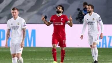 شاهد فيديو هدف محمد صلاح في مباراة ليفربول وريال مدريد